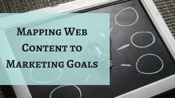 Mapping Web Content to Marketing Goals